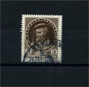 DDR 1955 Nr 497 f3 gestempelt (101230)