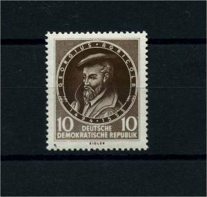 DDR 1955 Nr 497 f15a postfrisch (101232)