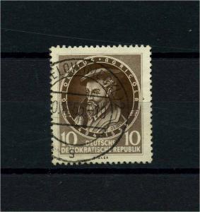 DDR 1955 Nr 497 f15b gestempelt (101234)