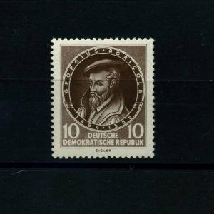 DDR 1955 Nr 497 f25 postfrisch (101235)