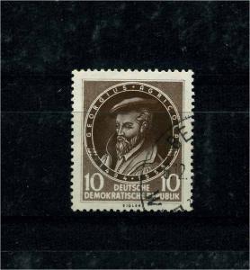 DDR 1955 Nr 497 f41 gestempelt (101246)