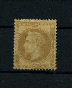FRANKREICH 1862 Nr 27 ohne Gummi (101628)
