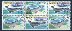 FAEROER 1992 HBl. 5 gestempelt (102200)