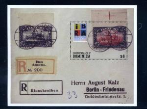 DOMINICA 1999 Block 379 postfrisch (102223)