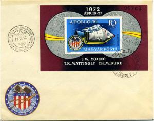 UNGARN 1972 Block 93B gestempelt (102758)