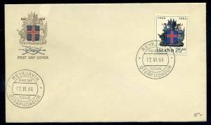 ISLAND 1958 Nr 380 gestempelt (102824)