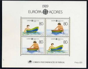 AZOREN 1989 Block 10 postfrisch (103418)
