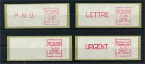 FRANKREICH 1981 ATM Nr 3.3 postfrisch (103456)