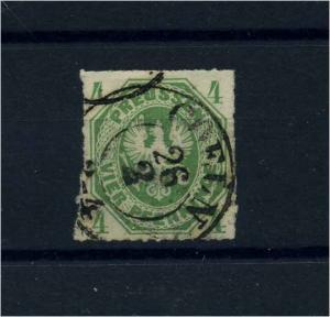 PREUSSEN 1861 Nr 14 gestempelt (103460)