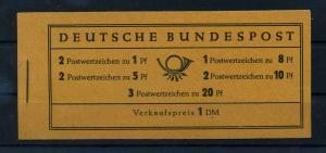 BUND 1958 MH 4YI postfrisch (103560)