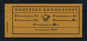 BUND 1958 MH 4YI postfrisch (103562)
