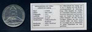 SACHSEN 3Mark 1913 siehe Beschreibung (103575)