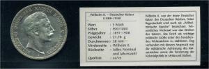 PREUSSEN 5Mark 1908 siehe Beschreibung (103578)