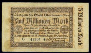 5Mio. Mark 1923 Aushilfsschein siehe Beschreibung (103977)