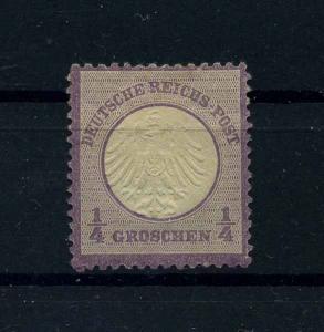 DEUTSCHES REICH 1872 Nr 1 Haftstelle/Falz (110554)