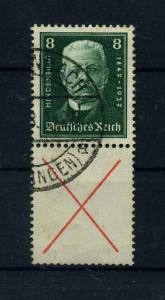 DEUTSCHES REICH 1927 ZD Nr S37 gestempelt (110556)