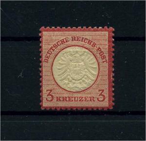 DEUTSCHES REICH 1872 Nr 25 postfrisch (110572)