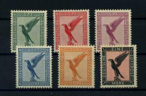 DEUTSCHES REICH 1926 Nr 378-382 postfrisch (110582)