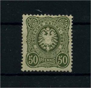 DEUTSCHES REICH 1880 Nr 44b postfrisch (110586)