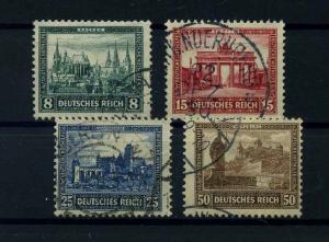 DEUTSCHES REICH 1930 Nr 450-453 gestempelt (110589)