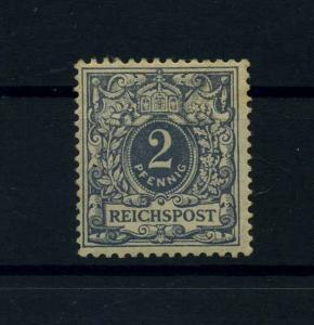 DEUTSCHES REICH 1900 Nr 52I Haftstelle/Falz (110592)