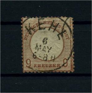 DEUTSCHES REICH 1872 Nr 27b gestempelt (110601)