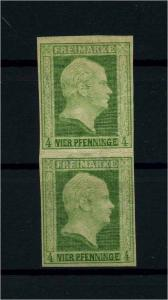 PREUSSEN 1856 Nr 5 Haftstelle/Falz (110719)