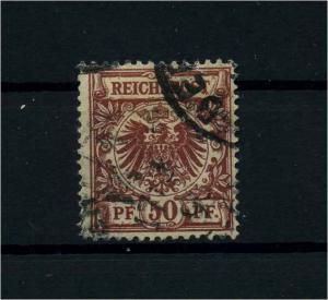 DEUTSCHES REICH 1889 Nr 50ab gestempelt (110725)
