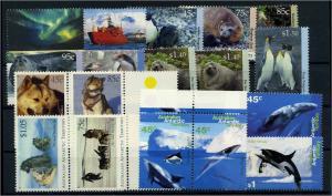 TAAF Lot aus 1991-1995 postfrisch (104478)
