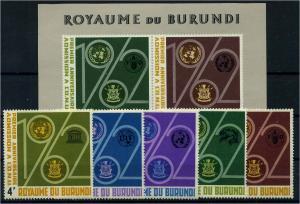 BURUNDI Lot aus 1963 postfrisch (104496)