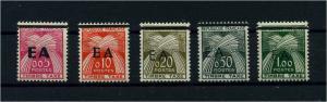 ALGERIEN 1962 Nr P54-58 postfrisch (104498)
