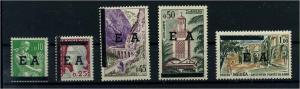 ALGERIEN 1962 Nr 383-387 postfrisch (104500)