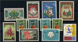 ALGERIEN 1963 Nr 402-412 postfrisch (104502)