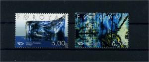 FAEROER 2002 Nr 421-422 postfrisch (104606)