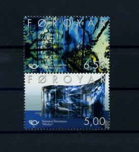 FAEROER 2002 Nr 421-422 postfrisch (104607)