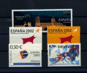 SPANIEN Lot aus 2000-2003 postfrisch (104622)