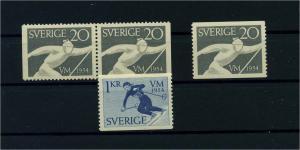 NORWEGEN 1954 Nr 388-389 postfrisch (104669)