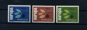 PORTUGAL 1965 Nr 990-992 postfrisch (104688)