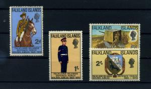 FALKLAND INSELN 1970 Nr 183-186 postfrisch (104712)