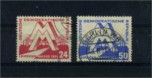 DDR 1951 Nr 282-283 gestempelt (104876)