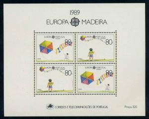 MADEIRRA 1989 Bl.10 postfrisch (105041)