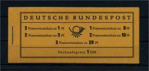 BUND 1958 MH 4X postfrisch (105236)