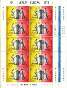 JERSEY 1979 Nr 192-195 postfrisch (105280)