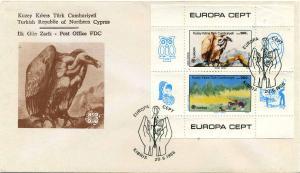 TURK.ZYPERN 1986 Bl.5 gestempelt (105289)