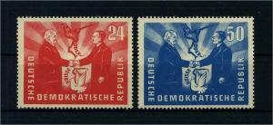 DDR 1951 Nr 296-297 postfrisch (105732)