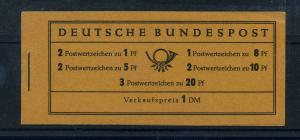 BUND 1958 MH 4YI postfrisch (106021)