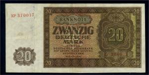 20 Mark 1948 Banknote siehe Beschreibung (106022)