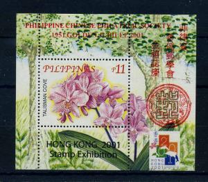 PHILIPPINEN 2001 Block postfrisch (106192)