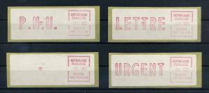 FRANKREICH ATM 1981 Nr 3.2.3zb ZS3 postfrisch (106371)