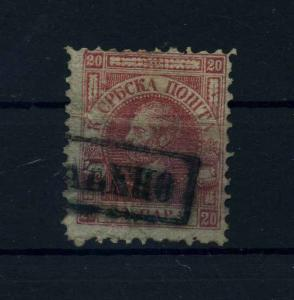 SERBIEN 1866 Nr 5 gestempelt (106492)